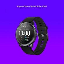 Haylou-solar ls05 relógio inteligente bluetooth 5.0 12 modos de esportes sono gestão app para huami bens haylou solar ls05 relógios