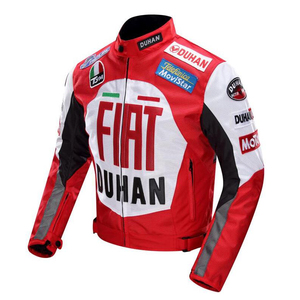 Image 2 - 2020 new Original DUHAN D 082 overalls Moto GP jacket motorcycle D082 knight jacket Repsol best quality red blue cotton lining