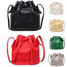 Fashion Women Leather Pure color Shoulder Bag Messenger Bag Purse Satchel 2019 new design PU Leather Handbag fashion women s pumps with pu leather and color block design