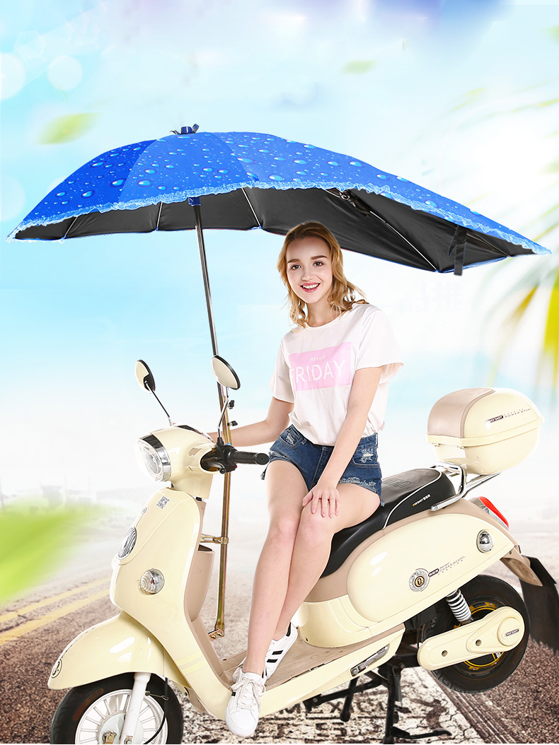 Scooter rainproof cover, outdoor umbrella, sun and rain proof support,  electric vehicle dustproof poncho|Scooter Parts & Accessories| - AliExpress