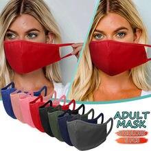 5pc adulto algodão máscara unissex reutilizável ao ar livre protetor solar boca caps reutilizável lavável protetor facial cubre boca reutilizza