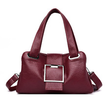 Women Leather Handbags Soft Leather Female Crossbody Shoulde