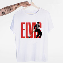 Elvis Presley Re del Rock T-Shirt O-Collo Maniche Corte Estate casual di Modo Unisex Uomini E Donne Tshirt(China)