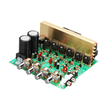 240W High Power Audio Amplifier Board Dual AC18-24V 2.1 Channel Subwoofer Amplifiers Board DIY Stereo Amp For Home HIFI Speaker aiyima tube amplifiers audio board diy kits a1943 c5200 dual ac12 28v high power amplifier board stereo hifi tube fever level