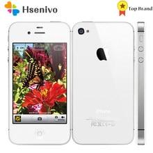 Apple Iphone 4S Verwendet (95% Neue)-Original Fabrik Entsperrt iPhone 4S IOS Dual Core 8MP WIFI WCDMA Mobile handy TouchScreen
