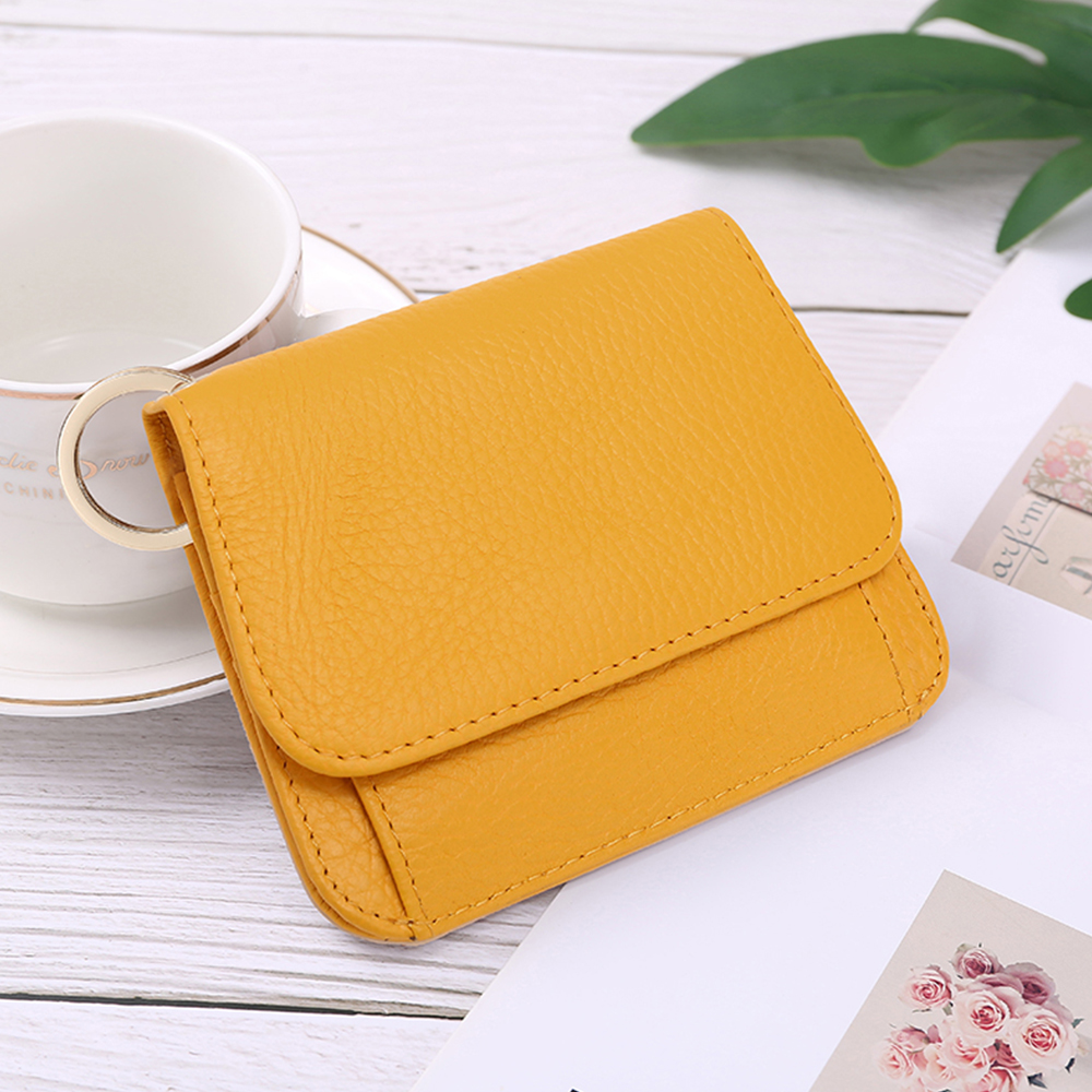 XDBOLO XDBOLO Leather Women's Wallet Fashion Coin Purse for Woman Card Holder Small Ladies Wallet Female Leather Mini Wallets