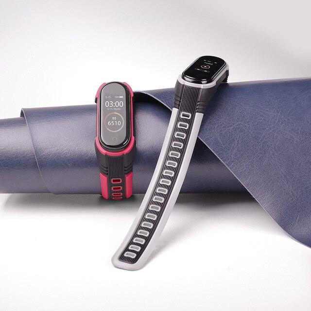 Mi Band 4 Strap New Style X Strap For Xiaomi Mi Band 3 Sport Silicone Bracelet For Xiaomi Mi Band3 Smart Watch Bracelet 1