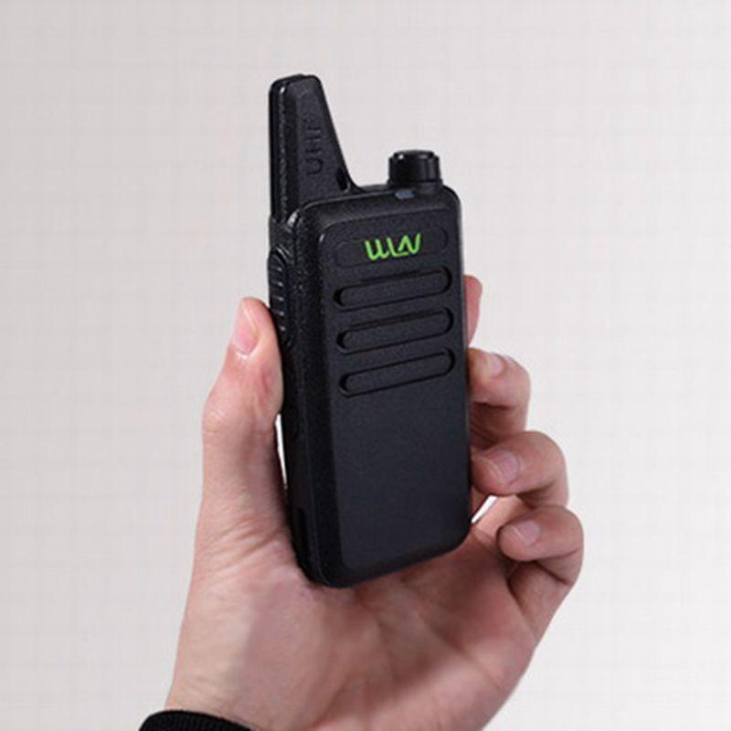 3PCS WLN KD-C1Mini Walkie Talkie Portable Radio UHF 400-470 MHz 5W 1500mah With 16 Channels slim Amateur Handheld Transceiver