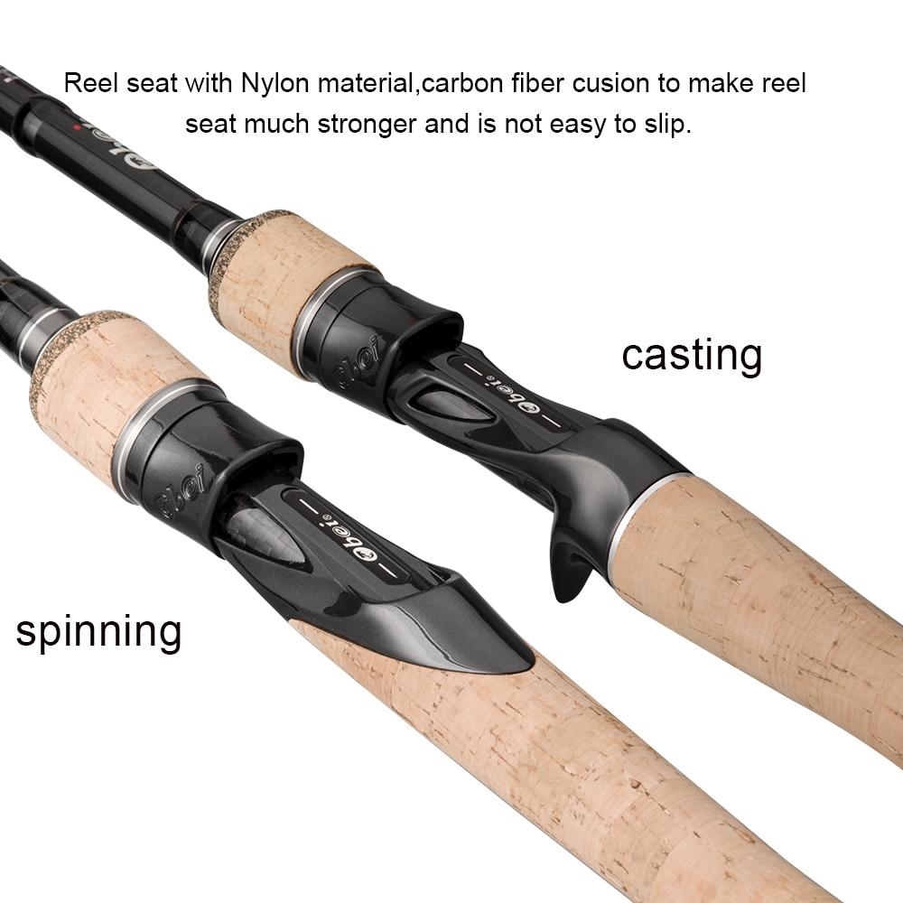 Obei HURRICANE Spinning Fishing Rod  4