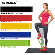 Rubber-Bands Fitness-Equipment Training-Workout Yoga-Resistance Sport Loops Latex 5-Levels