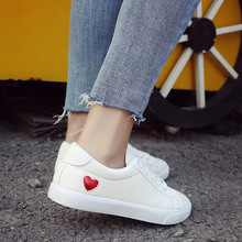 Fashion Women White Shoes Casual Loafers Classics Sneakers Low Top Shoes Woman Soft Bottom Low Heels Ladies Vulcanize Shoes bwb women pumps shoes woman loafers summer shoes for women fashion sweet casual women s shoes low heeled sole