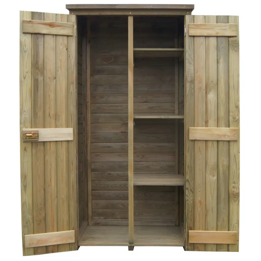 Shed Fsc Pinewood Outdoor Storage
