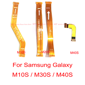 New Good Main Motherboard Connector LCD Display Flex Cable For Samsung Galaxy M10S M30S M40S M107 M307 M407 Replacement Patt image