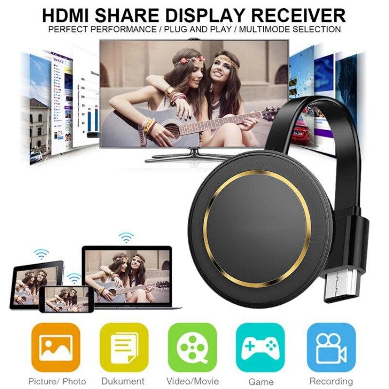 G14 TV Stick 5G Wireless Screen Projector 4K Wireless WiFi Display Dongle Ezcast Airplay HDMI Google Chromecast Cast For Youtube