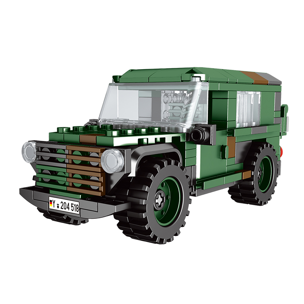 NEW XINGBAO 06041 Leicht-lkw Building Blocks 1:30 192pcs Military Vehicle Model Building Kits Construction Toys Christmas Gift