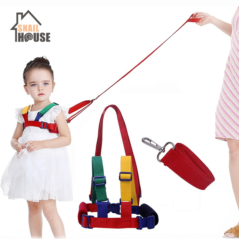 Walking-Belt Leashes Baby Harness Anti-Lost Cosy Learning Safety Toddler Children Infant title=