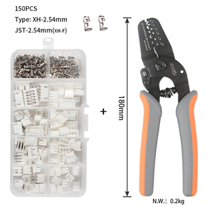 Image 1 - iwss 2820 XH2.54 Crimping Tool with 2P, 3P, 4P 5P,  XH2.54 Pin and Housing Terminals Kits