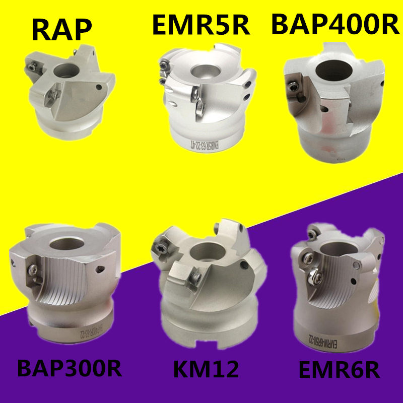 BAP400R BAP300R EMR5R EMRW6R KM12 RAP300R 40 50 22-4T BAP400R 40-22-3T Milling Holder For Milling Cutter Machine