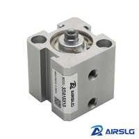 Квадратный пневматический цилиндр SDA двойной действующий Компактный цилиндр SDA 12 16 диаметр 12 16 мм ход 5-50 мм Женская/Мужская резьба