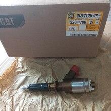 Inyector de combustible de Common Rail para Caterpillar, inyector de combustible Original 32F61-00062 326-4700 3264700 para CAT E320D con boquilla de motor C6.4