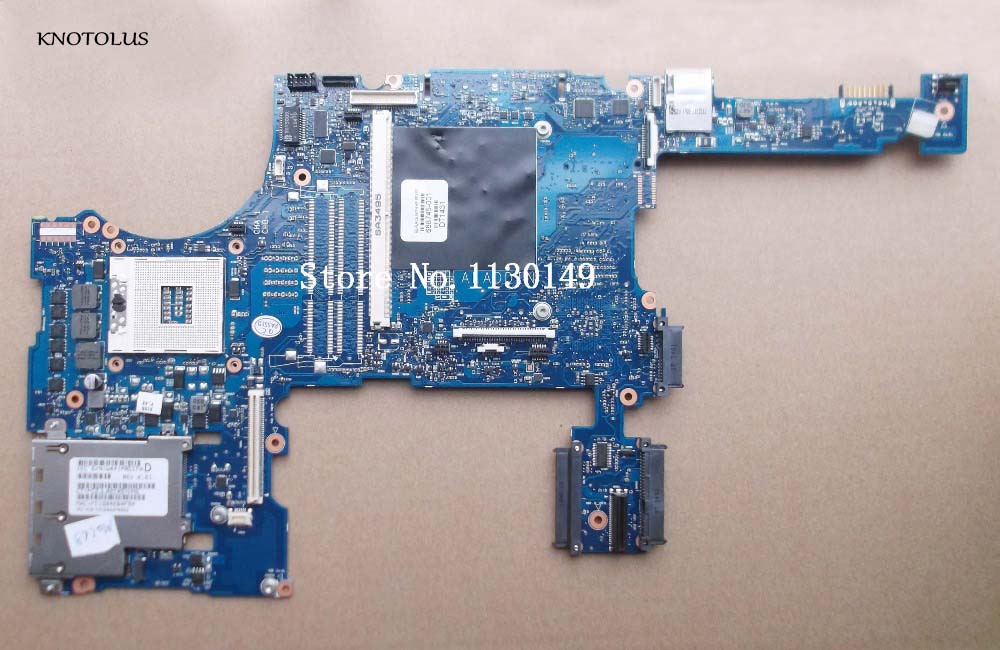 688745-501 Free Shipping Original for HP Probook <font><b>8770W</b></font> 8770P 688745-001 laptop motherboard PGA989 QM77 DDR3 Fully tested image
