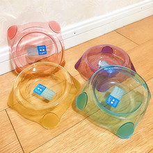 Pet-Supplies Bowl Cat-Dog-Feeder Crystal Affordable Transparent Universal New Candy-Color