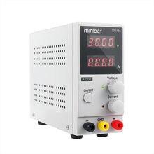 Fuente de alimentación de laboratorio ajustable, 30V, 10A, CC, pantalla de 4 dígitos, Mini regulador de voltaje K3010D 110V/220V, novedad de 2021