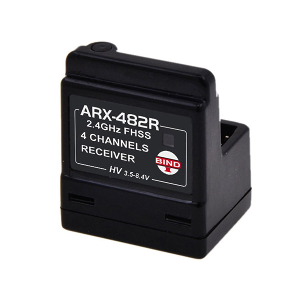 Arx-482r New Built-in Antenna 4-channel Fhss Standard 2.4g Vertical Receiver