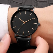 reloj hombre Luxury Watch Men Fashion Quartz Wrist Watch Leather Black Bracelet Casual Male Clock Men Watches relogio masculino women men fashion creative genuine leather bracelet watches casual quartz watch female male clock dropshipping