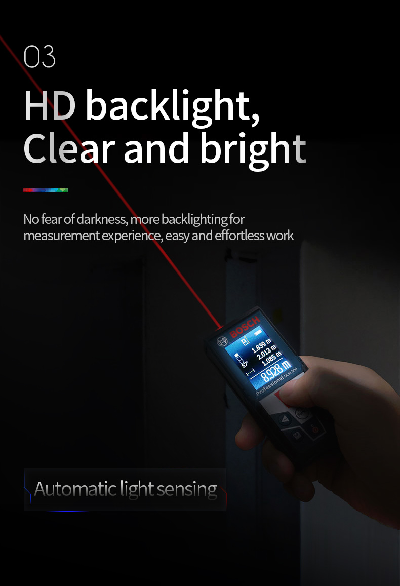 Automatic light sensing