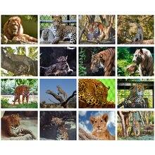 Алмазная вышивка «сделай сам» леопард тигр украшение для дома
