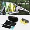 Acexpnm polarizado mountain bike ciclismo óculos de ciclismo esportes ao ar livre óculos uv400 4 lente ciclismo óculos de sol das mulheres dos homens 30