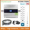 TianLuan Mini W-CDMA 2100Mhz Handy Signal Booster WCDMA 3G Signal Repeater Verstärker + Peitsche/Yagi Antenne mit 15m Kabel