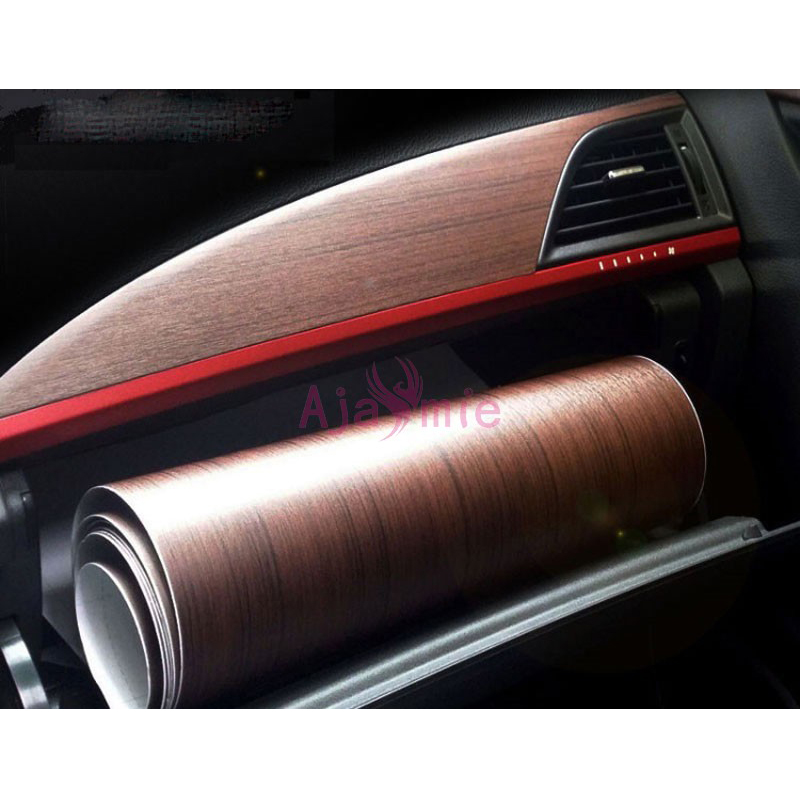 30cm*1m Car-Styling Interior Wood Color Car Sticker Film For Toyota Rav4 Camry Corolla Vios Yaris Vigo Innova Accessories