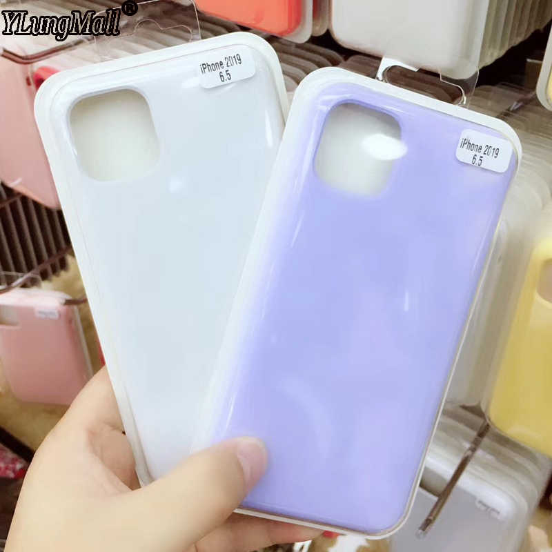Free Shipping Original Liquid Silicone Case for iPhone 11 XI Max XIR 2019 Case iPhone XS Max XR X 8 7 6 6s Plus Back Full Cover