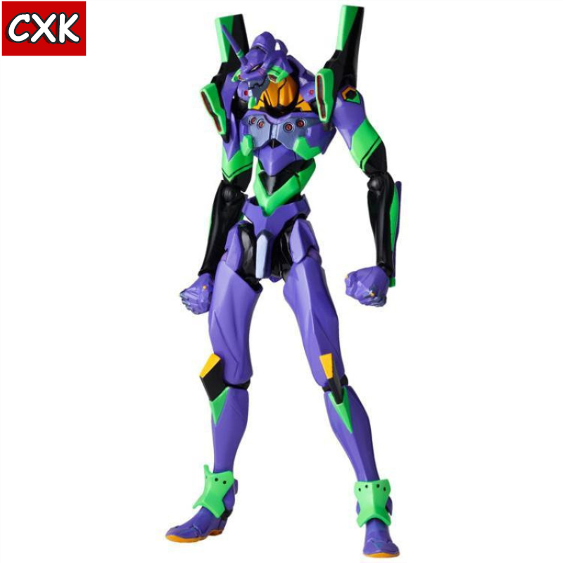 Evangelions 6cm NEON GENESIS EVA Light Action Figure Toys Collection Doll Christmas Birthday Gift With Box Speelgoed Pop