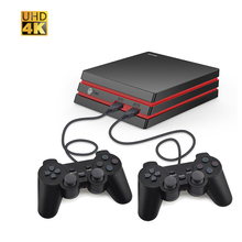 PINZHENG Game Console With 2.4G Wireless/Wired Controller HDMI Video Game Console 600 Classic Games For Family TV Retro Game цена 2017