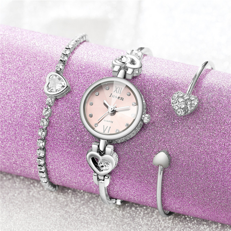 Women Bracelet Watches Brand Luxury Quartz Steel S
