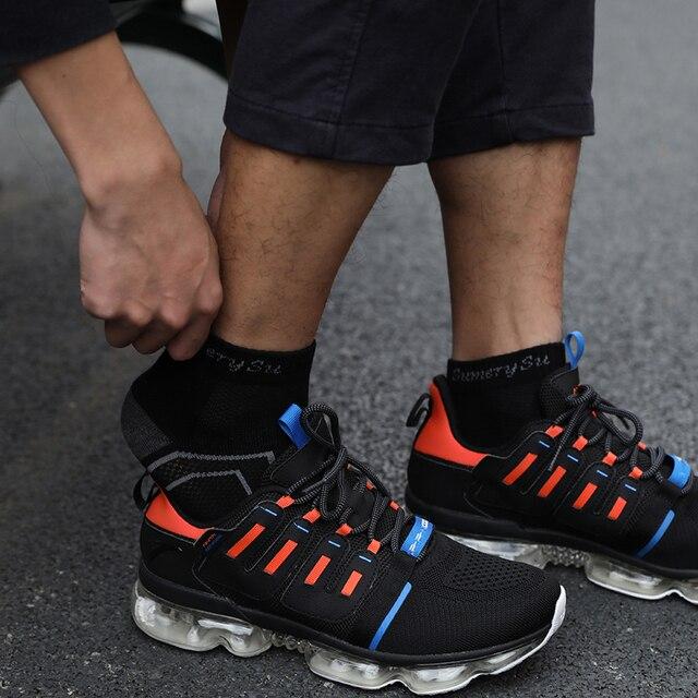 Мужские носки спортивные,хлопок дышащие с материалом против пота 6