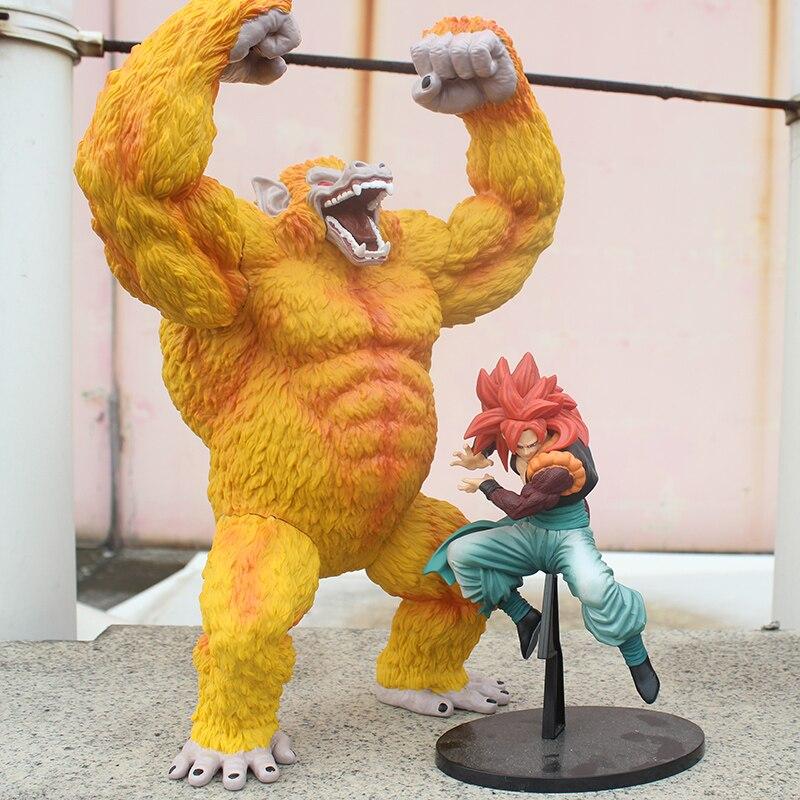 Anime Dragon Ball GT Son Goku Super Saiyan 4 Figurine Gold Gorillas Pvc Action Figure Model Toys