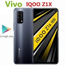 Vivo original iqoo z1x 5g telefone móvel 6.57