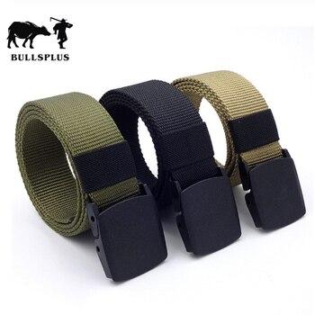 Cinturón táctico de aleación de moda informal para hombre hebilla automática cinturón para jóvenes estudiantes entrenamiento deportivo al aire libre