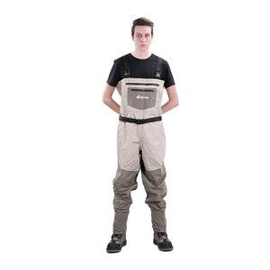 Image 3 - NEYGU waders de poitrine imperméables et ventilés, bottes à semelle en feutre pour sports nautiques, waders de pêche pour adultes pour planche