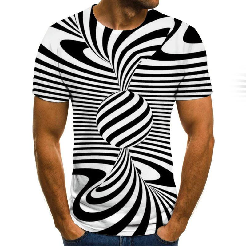 Summer 2020 3D T Shirt Men Streetwear Casual Printed Short Sleeves Fashion Comfort <font><b>Funny</b></font> <font><b>Tshirt</b></font> Camisetas Hombre Plus Size image