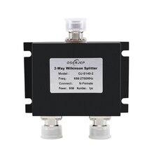2G 3 G G4GGSM 2 yollu mikro şerit güç bölücü N tipi konnektör 2 yollu mikroşerit güç bölücü cep telefonu sinyal güçlendirici için