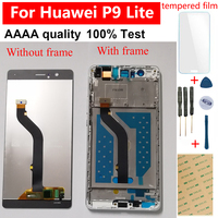 For Huawei P9 Lite LCD Display For Huawei G9 Touch Screen VNS L21 VNS L22 VNS L23 VNS L31 VNS L53 Sensor Panel Assembly Frame