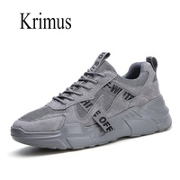 Mens Casual Shoes BreathableThick Bottom Lace Up Male Sneakers Off Sports White Fitness White Shoes Men zapatos de hombre
