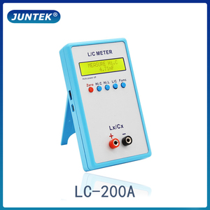 JUNTEK LC-200A Digital LCD Capacitance inductance meter LC Meter 1pF-100mF 1uH-100H(China)