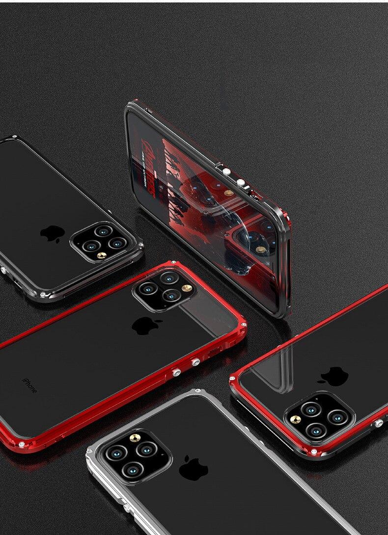 iphone11 Pro Max アルミバンパー