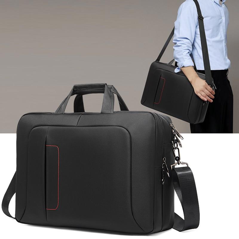 Men's Business Briefcase Office Travel Messenger Large Handbag Women's Computer Work Bag Business Travel Document Bag Laptop Bag